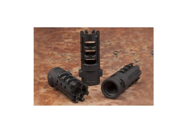 Gemtech Quickmount 30 Caliber | 7.62mm Accessory-Muzzle Brakes - Item #: GT34804 / MFG Model #: 12155 / UPC: 609224348044 - QUICKMOUNT 7.62MM CC MB 5/8-24 12155 | CARBON CUTTING MB