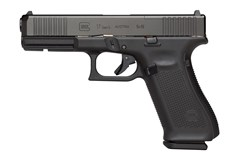 "GLOCK G17 G5 MOS 9mm  Item #: GLPA1756203MOS / MFG Model #: PA1756203MOS / UPC:  G17 G5 9MM 17+1 4.49"" MOS FS # 3-17RD MAGS"