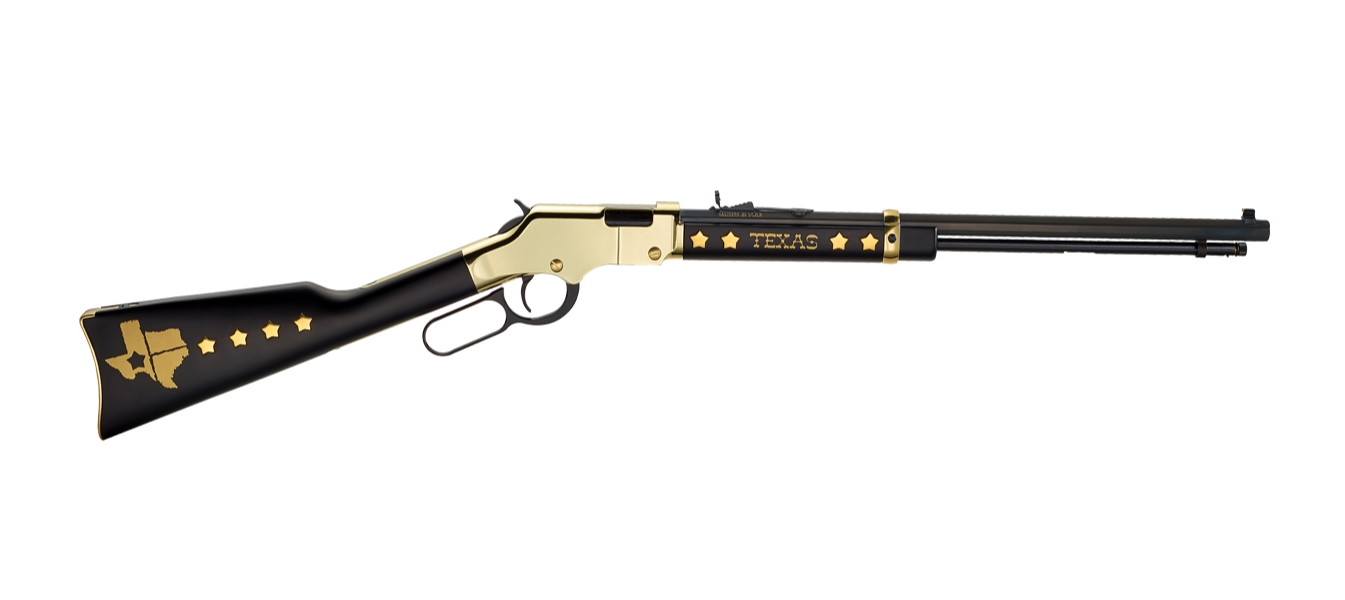 Henry Repeating Arms GOLDENBOY TEXAS TRIBUTE ED. 22 LR