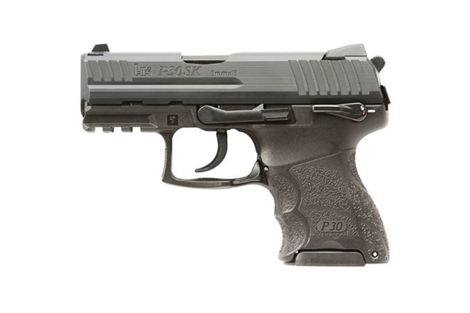Heckler and Koch (HK USA) P30SK (V3) 9mm Semi-Auto Pistol - Item #: HK730903KSLE-A5 / MFG Model #: 730903KSLE-A5 / UPC:  - P30SKS V3 9MM DASA 10+1 NS SFT 730903KSLE-A5 | SAFETY