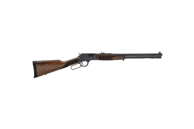 Henry Repeating Arms Big Boy Steel 44 Magnum | 44 Special Rifle - Item #: HNH012 / MFG Model #: H012 / UPC: 619835200006 - BIG BOY STEEL 44MAG/44SP BL/WD ROUND BARREL
