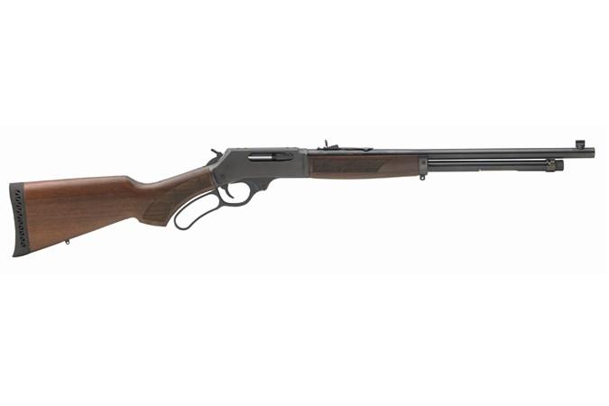 Henry Repeating Arms Lever Action Shotgun 410 Bore Shotgun - Item #: HNH018-410R / MFG Model #: H018-410R / UPC: 619835500021 - LEVER ACTION 410/20 BL/WD CYLINDER BORE