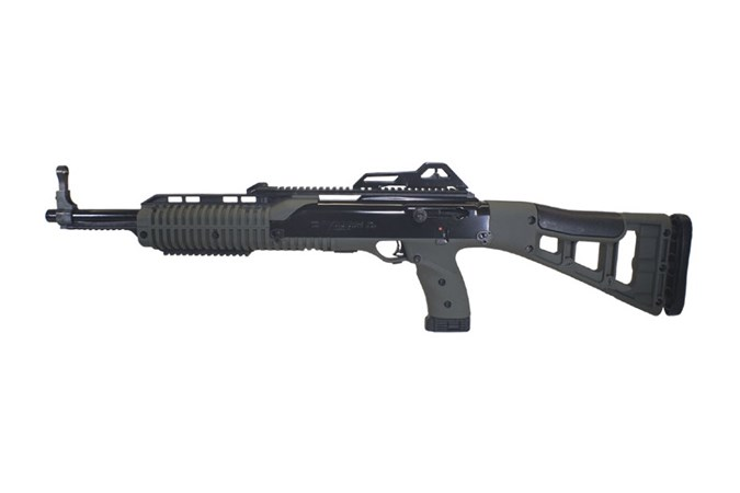 "Hi-Point 45TS Carbine 45 ACP Rifle - Item #: HP4595TSOD / MFG Model #: 4595TSOD / UPC: 752334600141 - 45TS 45ACP OD GREEN 9+1 17"" TARGET STOCK"