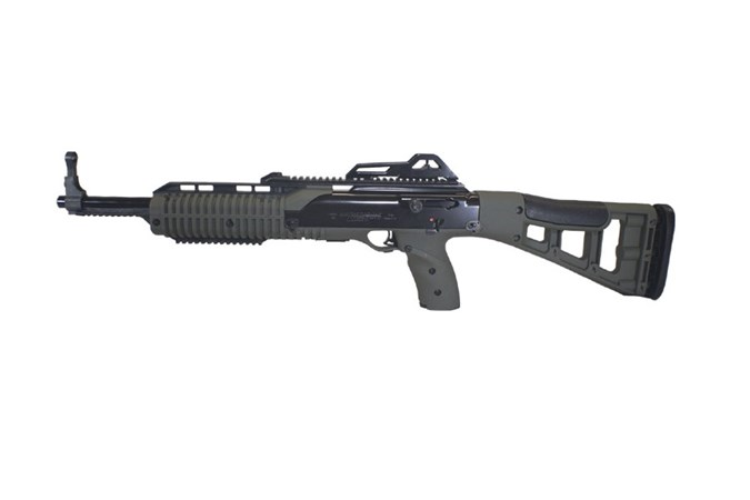 "Hi-Point 9TS Carbine 9mm Rifle - Item #: HP995TSOD / MFG Model #: 995TSOD / UPC: 752334600127 - 9TS 9MM OD GREEN 10+1 16"" TARGET STOCK"