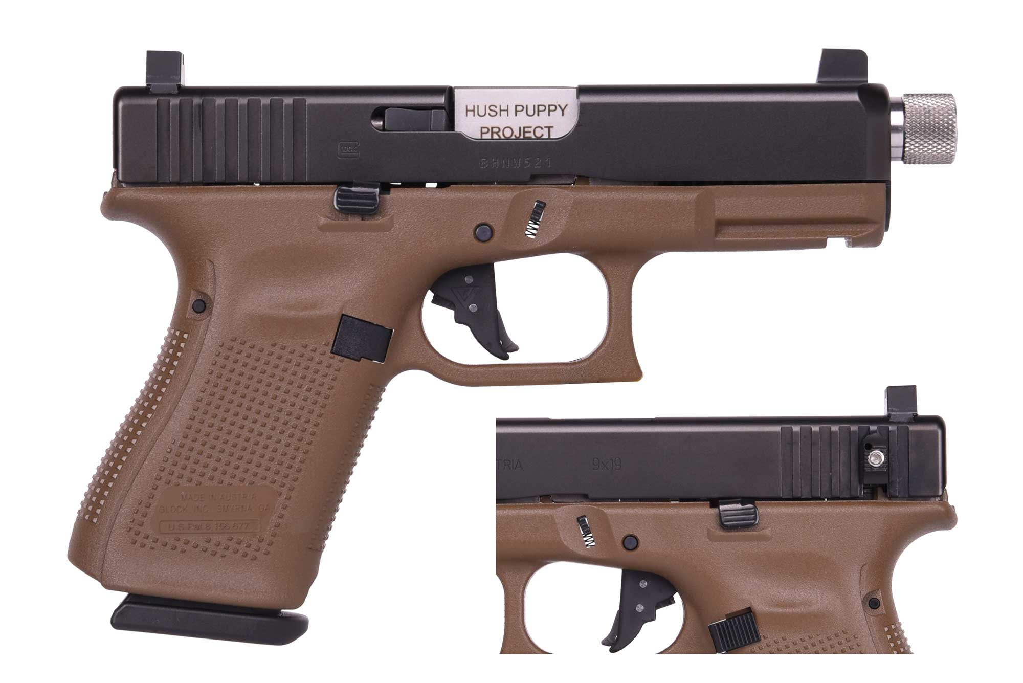 Hush Puppy Project HPP G19 G5 9MM