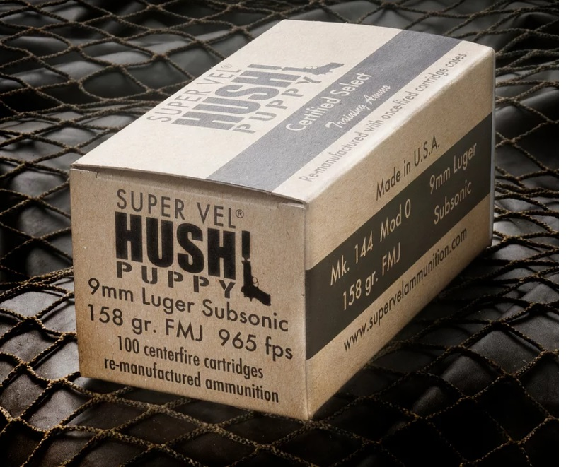 Hush Puppy Project CERTIFIED SELECT 9MM