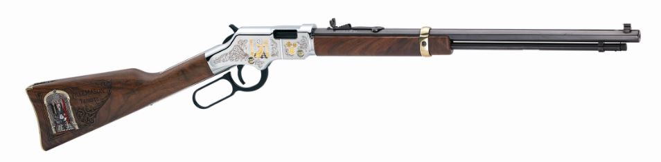 Henry Repeating Arms GOLDENBOY FREEMASONS TRIBUTE 22 LR