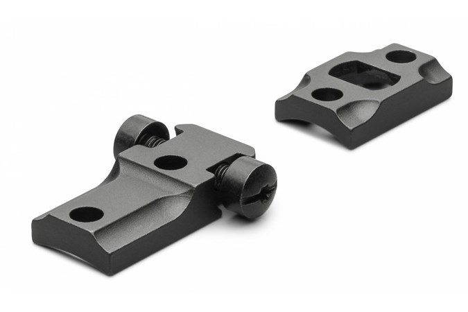 Leupold STD Browning A-Bolt LR 2-pc  Accessory-Rings/Mounts/Bases - Item #: LP50030 / MFG Model #: 50030 / UPC: 030317500306 - BASE STD BRWNG A-BOLT LR MTE LONG RANGE MOUNT MATTE BLACK