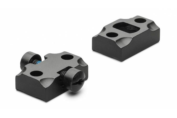 Leupold STD Tikka T3/T3x 2-pc  Accessory-Rings/Mounts/Bases - Item #: LP54447 / MFG Model #: 54447 / UPC: 030317544478 - BASE STD TIKKA T3/T3X 2-PIECE   MATTE BLACK