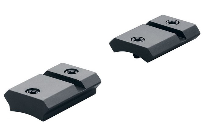 Leupold QRW Bases  Accessory-Rings/Mounts/Bases - Item #: LP171709 / MFG Model #: 171709 / UPC: 030317012816 - BASE QRW WBY MKV 2-PC MATTE QUICK RELEASE WEAVER STYLE