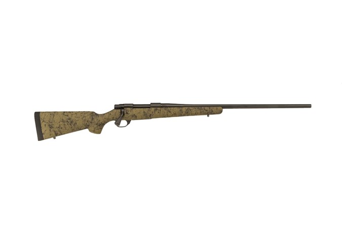 "HOWA M1500 HS Precision 7mm Rem Mag Rifle - Item #: LSHHS63703 / MFG Model #: HHS63703 / UPC: 682146389623 - HOWA HS PREC 7MAG GRN/BLK 24"" HS PRECISION STOCK"