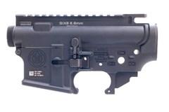 LWRC SIX8 Receiver Set 6.8mm SPC  Item #: LW200-0089A01 / MFG Model #: 200-0089A01 / UPC: 854026005309 SIX8 RECEIVER SET 6.8SPC BLK UPPER/LOWER REC'R FOR 6.8SPC
