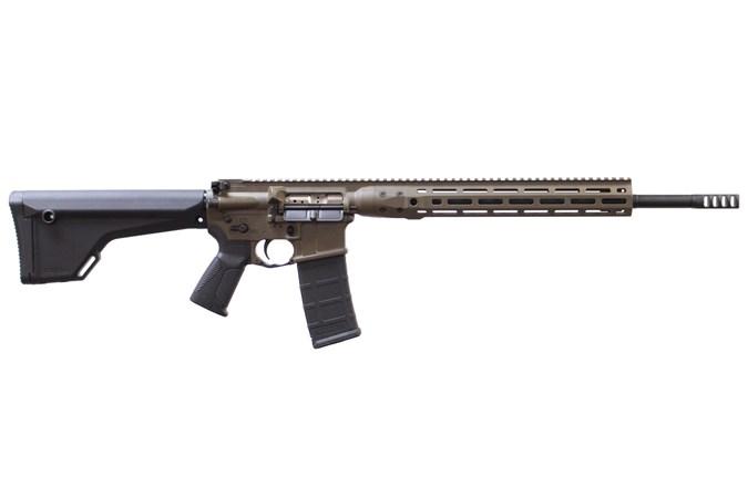 "LWRC IC-DI MKII TARGET 223 Wylde Rifle - Item #: LWICDIR5CK18TM / MFG Model #: ICDIR5CK18TM / UPC: 851154008011 - DI TARGET 223WYL 18"" FDE ICDIR5CK18TM DIRECT IMPINGEMNT"