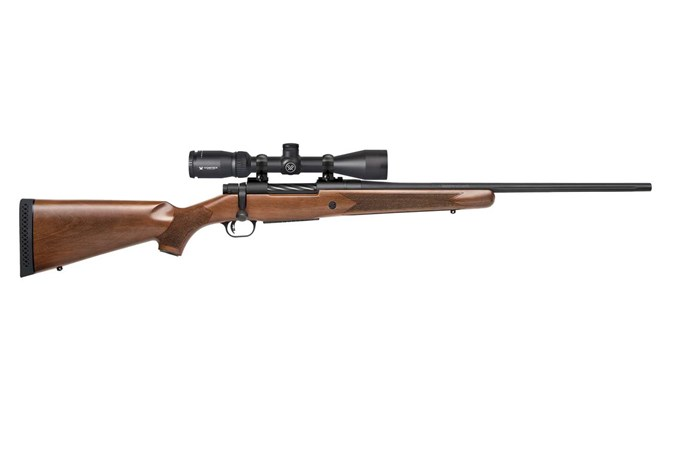 Mossberg Patriot Rifle 22-250 Rifle - Item #: MB28057 / MFG Model #: 28057 / UPC: 015813280570 - PATRIOT 22-250 BL/WD VORTEX INCL 3-9X40MM VARIABLE SCOPE