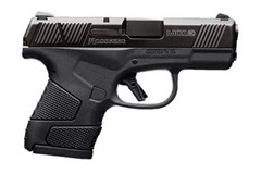 "Mossberg MC-1 9mm  Item #: MB89001 / MFG Model #: 89001 / UPC: 015813890014 MC-1 9MM BLK/POLY 3.4"" 7+1 FS"