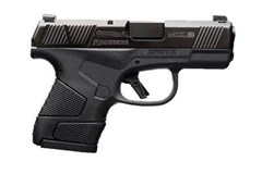 "Mossberg MC-1 9mm  Item #: MB89003 / MFG Model #: 89003 / UPC: 015813890038 MC-1 9MM BLK/POLY 3.4"" 7+1 NS TRUGLO TRITIUM NIGHT SIGHTS"