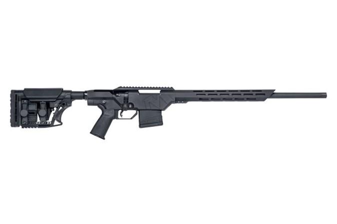 "Mossberg MPV Precision 308 Win Rifle - Item #: MB27961 / MFG Model #: 27961 / UPC: 015813279611 - MVP PRECISION 308WIN BL 20"" TB 5/8X24 TPI | ADJUSTABLE STOCK"