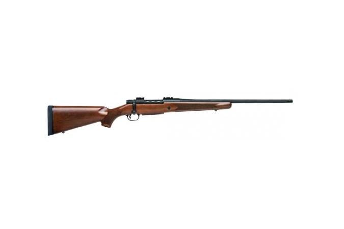 """Mossberg Patriot Rifle 243 Win Rifle - Item #: MB27835 / MFG Model #: 27835 / UPC: 015813278355 - PATRIOT 243WIN BL/WD 22"""""""