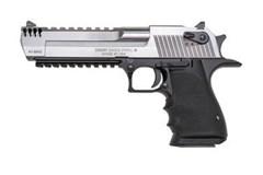 Magnum Research Desert Eagle Mark XIX 44 Magnum  Item #: MRDE44ASIMB / MFG Model #: DE44ASIMB / UPC: 761226088110 DESERT EAGLE 44MAG MK XIX SS INTEGRAL MUZZLE BRAKE|SS SLIDE