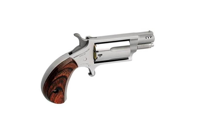 "North American Arms Mini-Revolver Convertible 22 LR | 22 Magnum Revolver - Item #: NONAA-22MSC-P / MFG Model #: NAA-22MSC-P / UPC: 744253002168 - MINI 22MAG/22LR 1-1/8"" SS PRTD NAA-22MSC-P|PORTED/CONVERTIBLE"