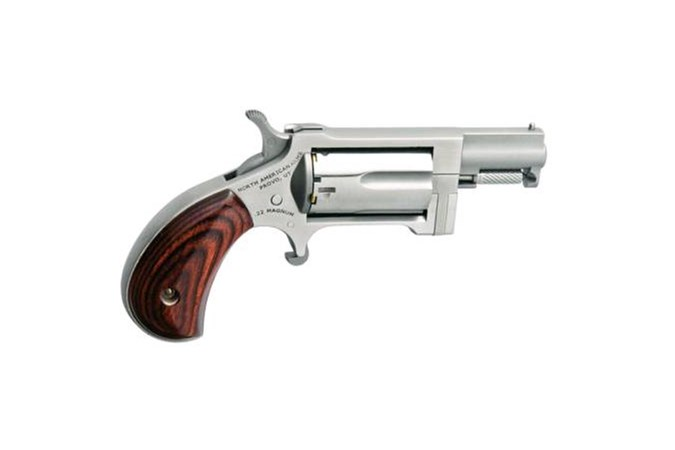 """North American Arms Sidewinder 22 Magnum Revolver - Item #: NONAA-SW / MFG Model #: NAA-SW / UPC: 744253002533 - SIDEWINDER 22MAG 1.5"""" SS NAA-SW"""