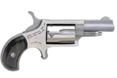 LIPSEY'S EXCLUSIVE North American Arms Mini-Revolver 22 Magnum  Item #: NONAA22M-GP-B / MFG Model #: NAA-22M-GP-B / UPC: 744253001147 MINI 22MAG REV 1-5/8 SS BLKPRL NAA-22M-GP-B|BLK PEARLITE GRIP