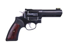 "TALO EXCLUSIVE Ruger GP100 357 Magnum | 38 Special  Item #: RUGP1417 / MFG Model #: 1772 / UPC: 736676017720 GP100 357MAG 7SH 4.2"" BLUED 1772"