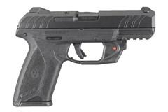 """Ruger SR9 9mm  Item #: RUSECURITY-9VL / MFG Model #: 3816 / UPC: 736676038169 SECURITY9 9MM BK 4"""" 15+1 LASER 3816   VERIDIAN RED LASER"""