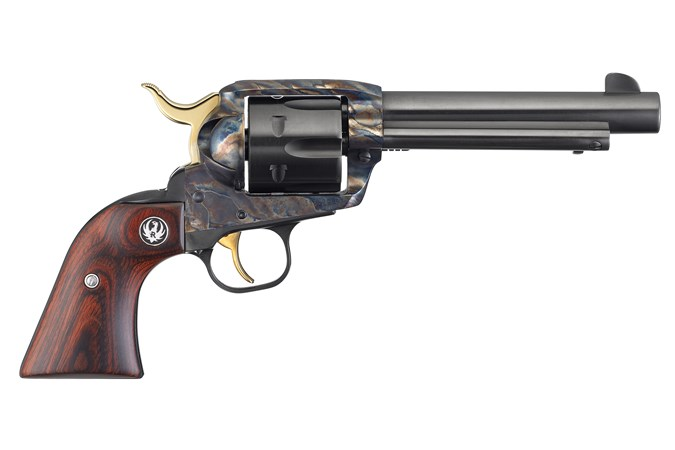 """Ruger Vaquero BT Limited Edition 357 Magnum   38 Special Revolver - Item #: RUNV35TYLE / MFG Model #: 5164 / UPC: 736676051649 - VAQUERO BT LTD ED 357MAG 5.5"""" 5164 BOBBY TYLER LTD EDITION"""