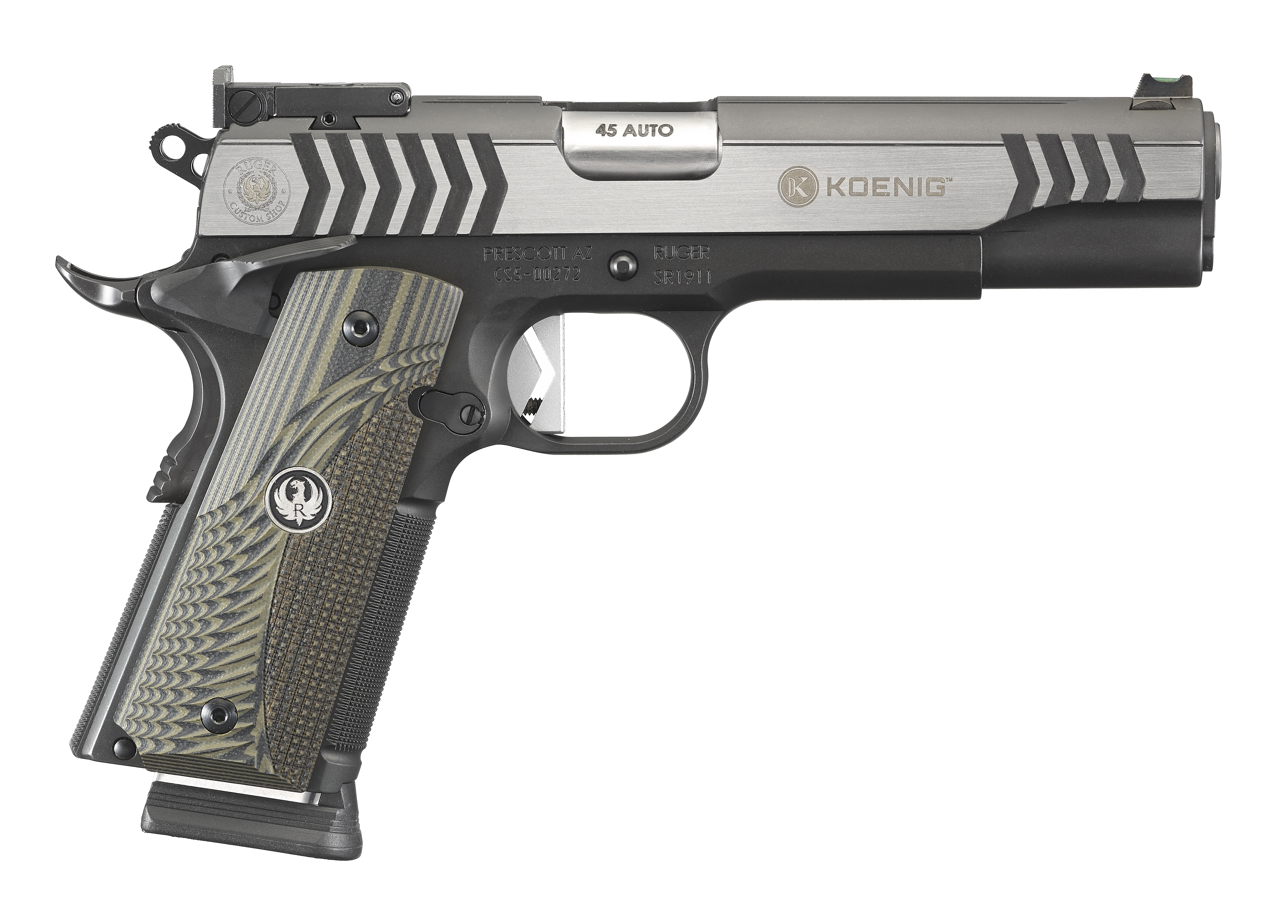 Ruger SR1911 COMPETITION 45 ACP