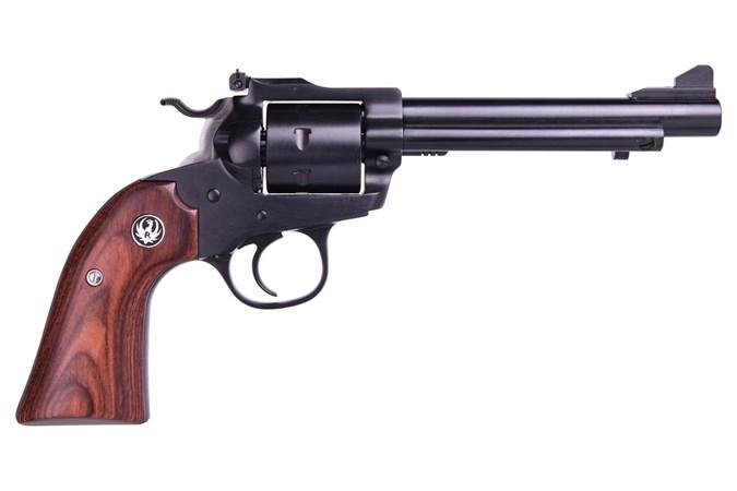 Ruger Single Seven Bisley 327 Federal Magnum Revolver - Item #: RUSSMRB5327 / MFG Model #: 8164 / UPC: 736676081646 - SINGLE SEVEN 327 BISLEY 5.5 BL 8164 7 SHOT/BLUE FINISH/AS