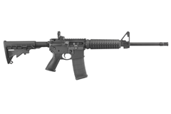 "Ruger AR-556 223 Rem | 5.56 NATO  Item #: RUAR-556 / MFG Model #: 8500 / UPC: 736676085002 AR-556 5.56MM BLK 16"" 30RD 8500 FORWARD ASSIST/DUST COVER"
