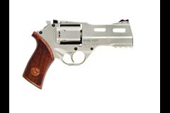 "Chiappa Firearms Rhino 40DS 357 Magnum | 38 Special  Item #: CI340.222 / MFG Model #: 340.222 / UPC: 8053670712171 RHINO 40DS 357MAG 4"" NICKEL AS 340.222 NICKEL FINISH"