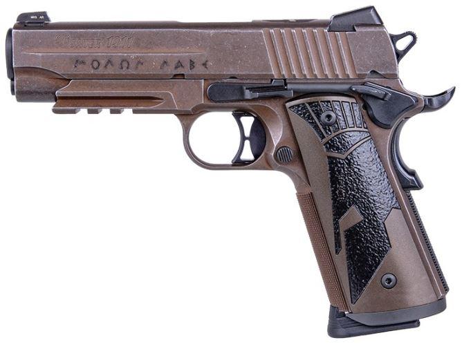 SIG SAUER 1911 SPARTAN II 45 ACP