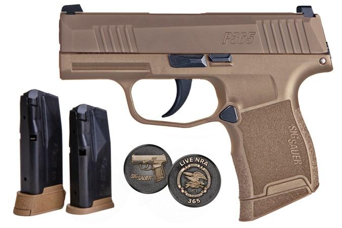 SIG SAUER P365 NRA 9mm Semi-Auto Pistol