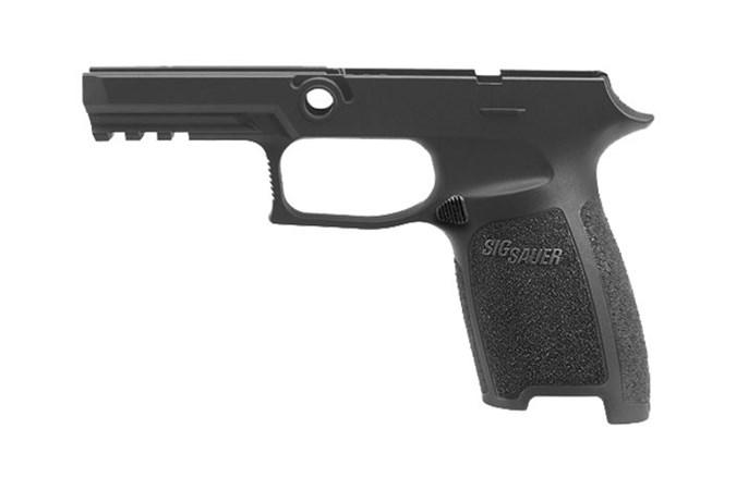 SIG SAUER 320 Carry Grip Module Assy  Accessory-Grips - Item #: SIGRIMOCA943SBK / MFG Model #: GRIP-MOD-CA-943-SM-BLK / UPC: 798681550982 - GRIP ASY 320 9/40/357 CARRY SM GRIP-MOD-CA-943-SM-BLK   SMALL