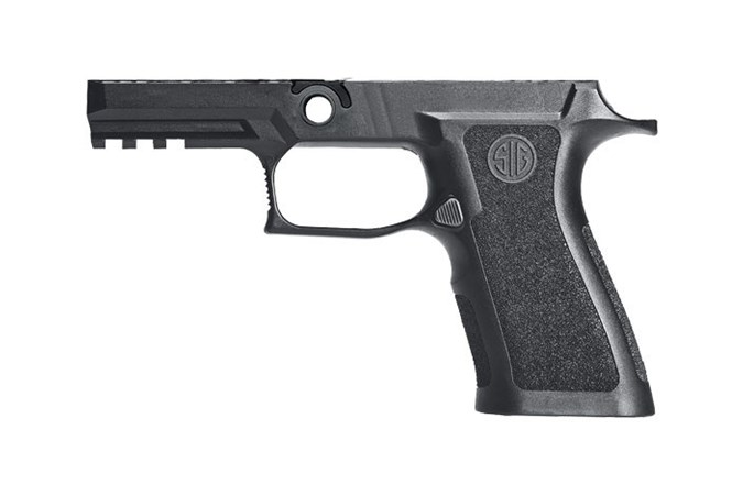 SIG SAUER 320X Carry Grip Module Assy  Accessory-Grips - Item #: SIGRIMXCA943MBK / MFG Model #: GRIP-MODX-CA-943-M-BLK / UPC: 798681583553 - GRIP ASY 320X 9/40/357 CRRY MD GRIP-MODX-CA-943-M-BLK|MEDIUM