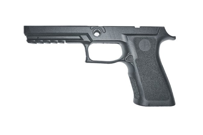 SIG SAUER 320X Full Size Grip Module Asy  Accessory-Grips - Item #: SIGRIPMXF943MBK / MFG Model #: GRIP-MODX-F-943-M-BLK / UPC: 798681583577 - GRIP ASY 320X 9/40/357 FS MED GRIP-MODX-F-943-M-BLK FULL SZ