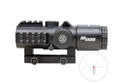 SIG SAUER Bravo 3 MegaView   Item #: SISOB33101 / MFG Model #: SOB33101 / UPC: 798681585885 BRAVO3 BTL SGT 3X30 556/762 HS ILLUM HORSESHOE/DOT M1913 RAIL