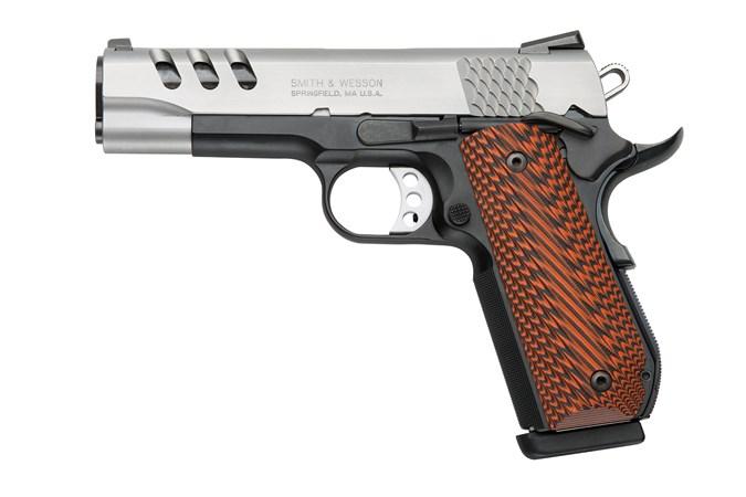 Smith and Wesson SW1911PCRB Round Butt 45 ACP Semi-Auto Pistol