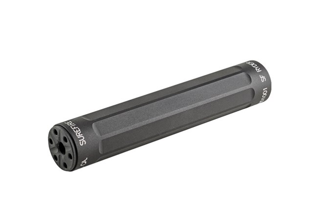 SureFire RYDER 22-S 22 LR NFA - Silencer - Item #: SU131867 / MFG Model #: SF RYDER 22-S / UPC: 084871318679 - RYDER 22-S 22/22M/17HMR 1/2X28 SF RYDER 22-S|RTED 22MAG/17HMR