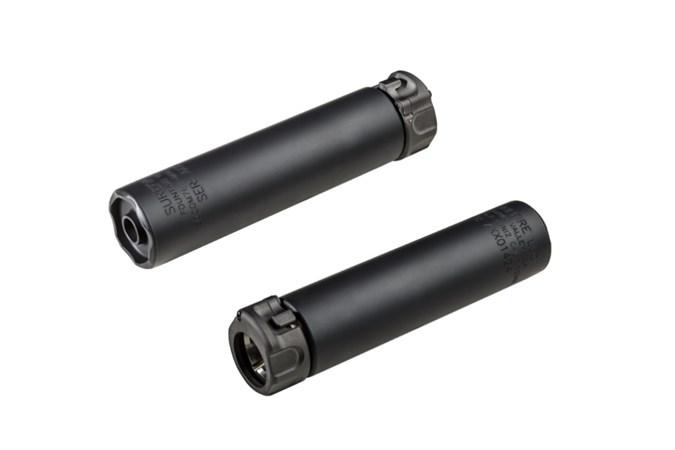 SureFire SOCOM762-MINI GEN2 Black 30 Caliber | 7.62mm NFA - Silencer - Item #: SU132452 / MFG Model #: SOCOM762-MINI2-BK / UPC: 084871324526 - SOCOM762-MINI GEN2 762 BK SLCR SOCOM762-MINI2-BK