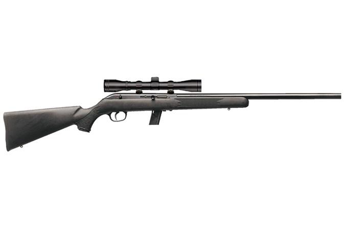 Savage Arms 64 FV-XP 22 LR Rifle - Item #: SV64FVXP / MFG Model #: 45100 / UPC: 062654451003 - 64 SEMI-AUTO 22LR BL/SYN PKG 45100 | 3-9X40 SCOPE PACKAGE
