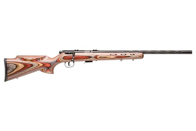 Savage Arms 93 BRJ 22 Magnum Rifle - Item #: SV93BRJ-AT / MFG Model #: 92745 / UPC: 062654927454 - 93 BOLT 22MAG BL/LAM SPIR FLT 92745 | SPIRAL FLUTED BARREL