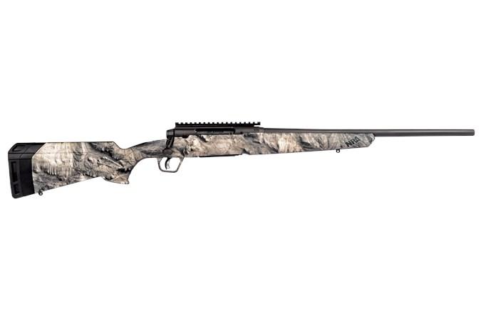 "Savage Arms Axis II Overwatch 270 Win Rifle - Item #: SVAII270O / MFG Model #: 57486 / UPC: 011356574862 - AXIS II 270WIN GRAY/CAMO 20"" 57486  NRA MOSSY OAK OVERWATCH"