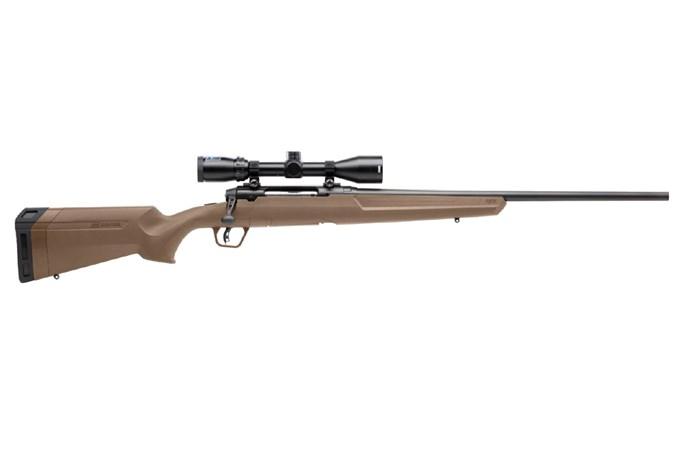 "Savage Arms Axis II XP FDE 270 Win Rifle - Item #: SVAIIXP270FDE / MFG Model #: 57178 / UPC: 011356571786 - AXIS II XP 270WIN FDE 22"" PKG 57178 | 3-9X40 BUSHNELL SCOPE"