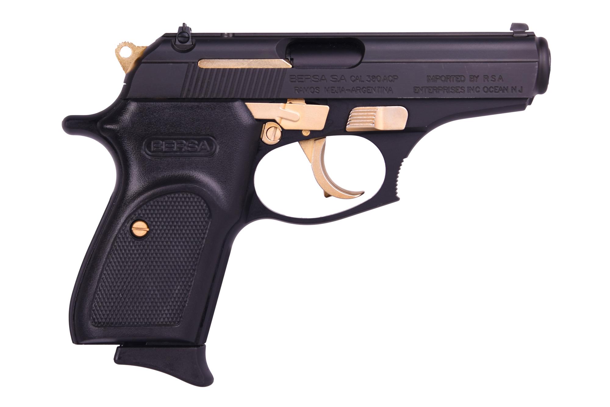 Bersa THUNDER 380 MATTE/GOLD 380 ACP