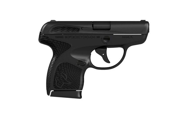 "Taurus Spectrum 380 ACP Semi-Auto Pistol - Item #: TA1007031101 / MFG Model #: 1007031101 / UPC: 725327613787 - SPECTRUM 380ACP BLK/BLK 2.8"" # 1007031101"