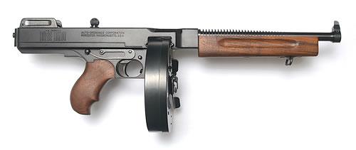 Auto-Ordnance - Thompson 1927A-1 DELUXE PISTOL 45 ACP
