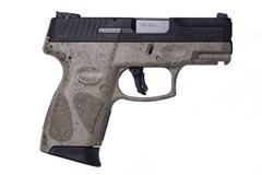 LIPSEY'S EXCLUSIVE Taurus G2C 9mm  Item #: TAG2CBSPFDE / MFG Model #: 1-G2C931-SPFDE / UPC: 725327932123 G2C 9MM BLK/FDE SPLATTER 12+1 1-G2C931-SPFDE